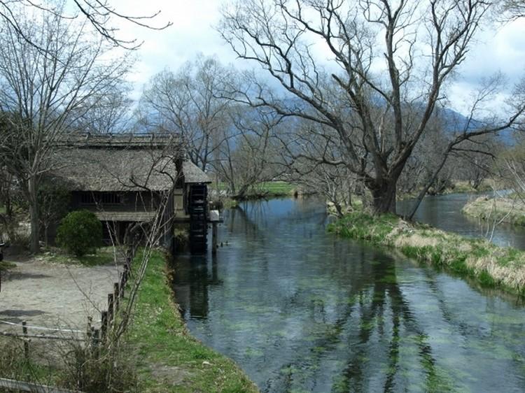 安曇野の原風景【水車小屋】