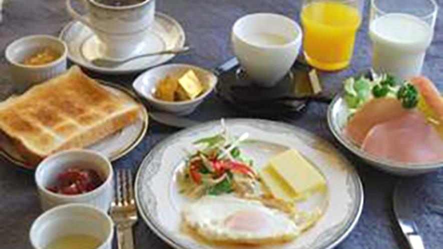 ・洋朝食の一例になります