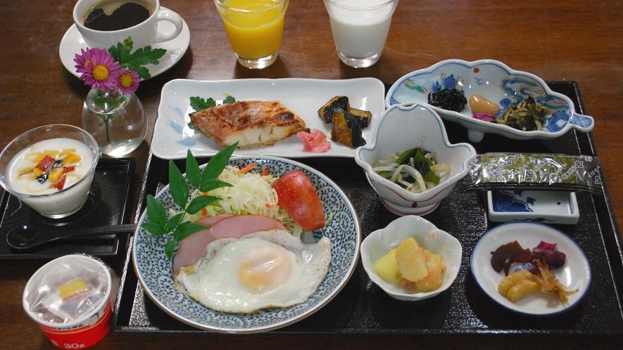 ・和朝食の一例になります