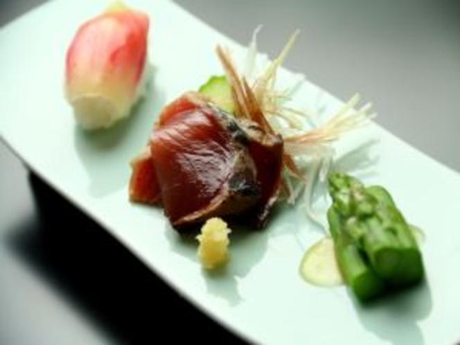夕食一例【前菜】