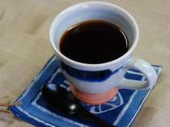 食後の一杯にコーヒーはいかがですか?