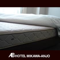 [マットレス] 体圧分散、寝姿勢、寝床内を快適に整えた寝心地のいいベッド