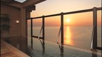 *露天風呂「走り湯」天然温泉を堪能しながら、美しい朝日に魅了される贅沢なひとときを♪