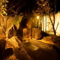 桜花の湯「貸切露天風呂」
