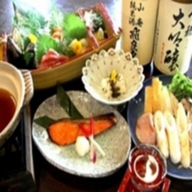 【秋田・郷土料理を楽しめます】郷土料理の夕食・バイキング朝食付きプラン