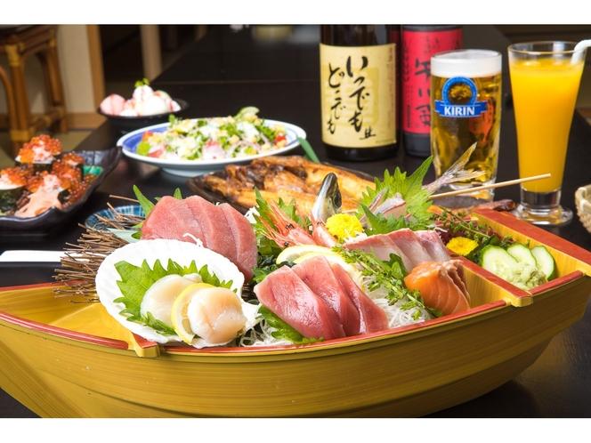 【2F:はなの夢】新鮮な海鮮料理