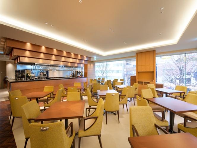 朝食ビュッフェ セレニティ店内