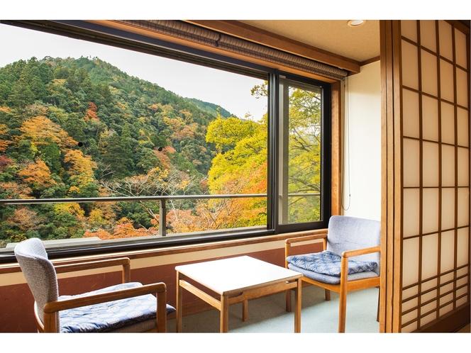 秋の風景 お部屋からの眺め