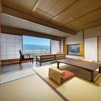 東の館・10畳(55平米)リビング付上級和室ミストサウナ付