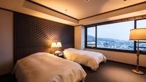 【西の館・スイート(86㎡)】和室+ベッドルーム+リビング
