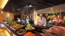旬菜ダイニング信州 オープンキッチン