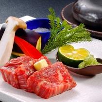 贅沢信州和牛ランチ【信州牛石焼ステーキ】(イメージ)
