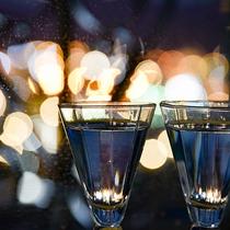 ⇒楽しみ 夜は夜景を見ながら地酒に酔いしれる