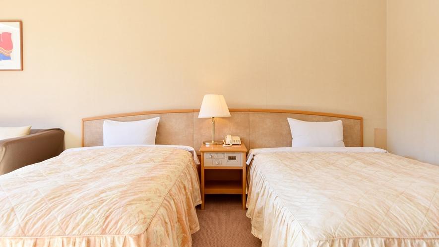 *⇒安眠 ゆったりとしたベッドと静かな空間でぐっすりとお眠り頂けます。
