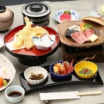 【お料理】会席料理のイメージになります。