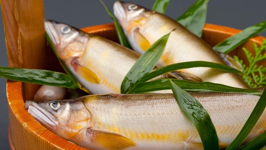 *【お料理】旬の時期は鮎が美味しいですよ。