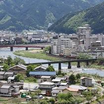 【景観】下呂温泉の町並みがご覧頂けます。