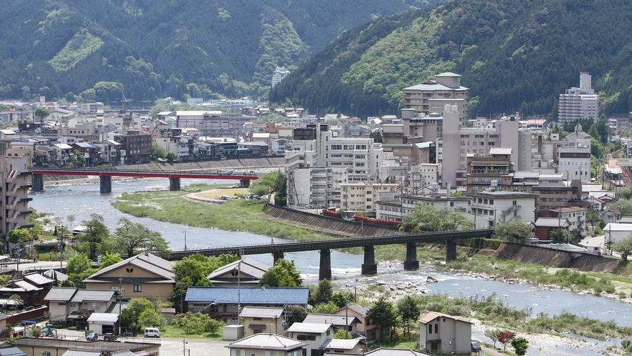 *【景観】下呂温泉の町並みがご覧頂けます。