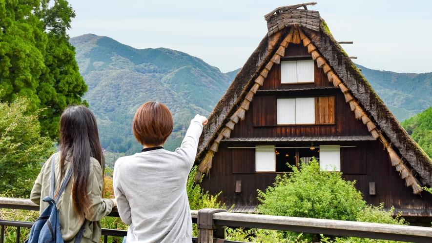 *⇒愉しむ 温泉街だけでなく、様々な観光地からも便利な立地の当館。