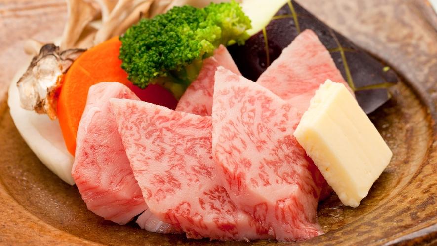 *【お料理】単品の飛騨牛陶板焼き☆