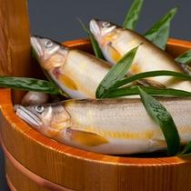 【お料理】旬の時期は鮎が美味しいですよ。