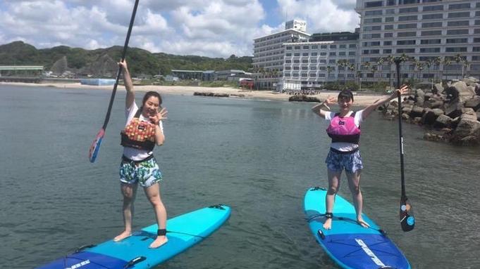 【サップ散歩】透明度抜群な勝浦の海でSUPを楽しもう♪アクティブなあなたにおすすめ!サップ体験プラン