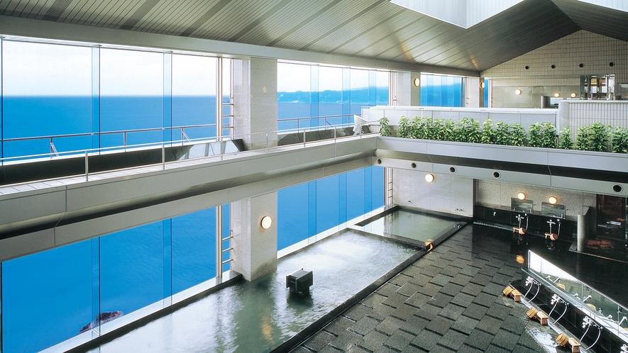 *【眺望風呂】地上40mより太平洋を一望。