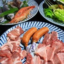 *【炉端焼(肉)】柔らかいお肉は、口の中でとろけます。