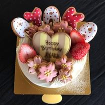 *【お誕生日ケーキ一例】手作りのケーキで記念日をお祝いしましょう。