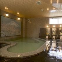 サウナ付大浴場「長山の湯」の一例
