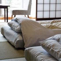 和室のお布団イメージ