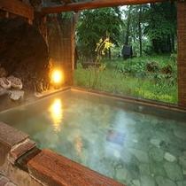 旅館美津木の貸切風呂も利用可(庭園露天風呂、混雑日時間制限有)