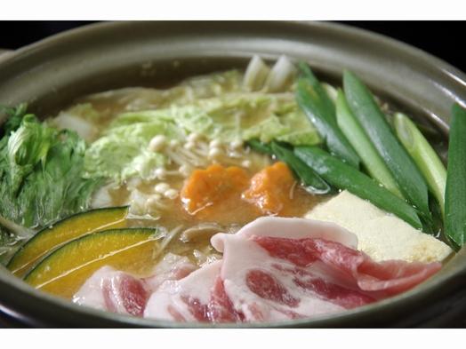 ★NEW 自家野菜とうま豚のヘルシーみそ鍋プラン♪