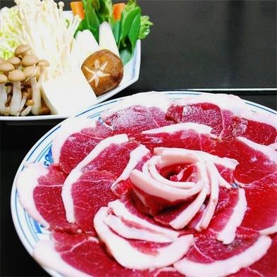 ★丹波篠山天然猪のボタン鍋京都の白味噌で味合う♪