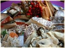 ■海鮮鍋と自家栽培野菜