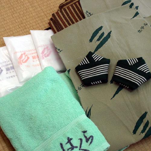 浴衣・タオル