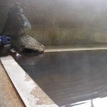 自家源泉から沸き出る天然温泉 (本館:1階)