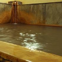 源泉から沸き出る天然温泉  (別館:1階)