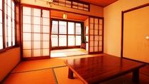 ■【本館 客室一例 】温泉街に面したお部屋で、ゆったりとお休みください。