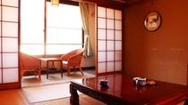 ■【別館 客室一例】広々とした和室。畳の上で足を伸ばしてお寛ぎください。