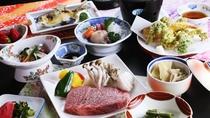 ■【ご夕食一例】食三昧!主役の尾花沢牛と女将特製のおもてなし料理。