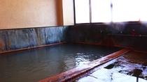 ■【別館 貸切風呂1】熱めの湯がカラダにしみる。疲労や病後回復に効果があります。