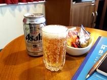 夏季・男性限定メンズプランはビール&おつまみプレゼント♪ ※内容は変更となる場合がございます。