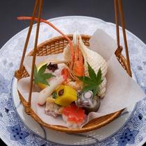 色鮮やかな美しい料理