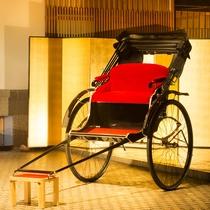 【人力車の旅】当館にお泊りの方限定の無料サービス!
