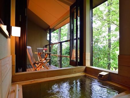 客室露天風呂付「和洋室(8帖+ツインルーム)」