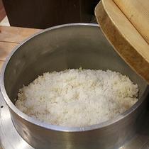 【夕食バイキング】ご飯は北海道産のふっくりんこ