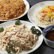 夕食バイキング〜中華冷菜