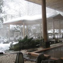 庭園露天風呂<冬>