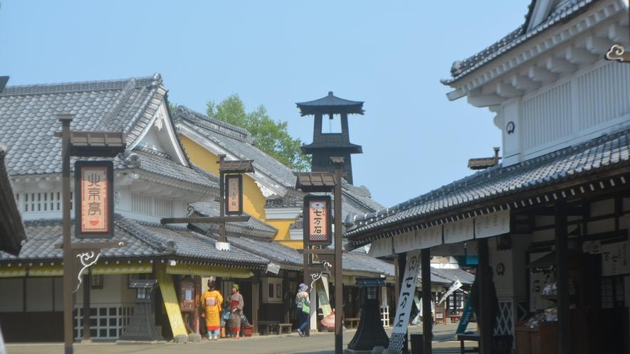 ◆周辺観光「登別伊達時代村」(イメージ)